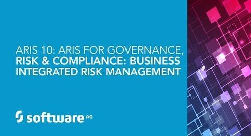 Demo: ARIS 10: ARIS for Governance, Risk & Compliance: Business Integrated Risk Management