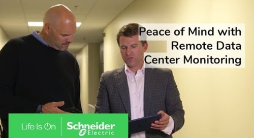 Data Center Management: A Remote Monitoring System for Cavern Technologies | Schneider Electric