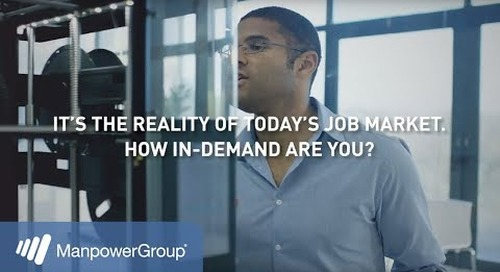 2018 ManpowerGroup Talent Shortage Research Candidate Video