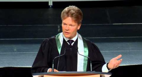 Spring 2014 Convocation - Peter Tilley