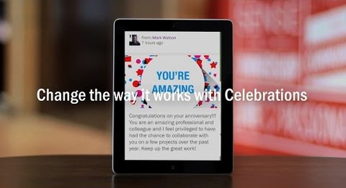 Celebrations: Make Employee Milestones Matter