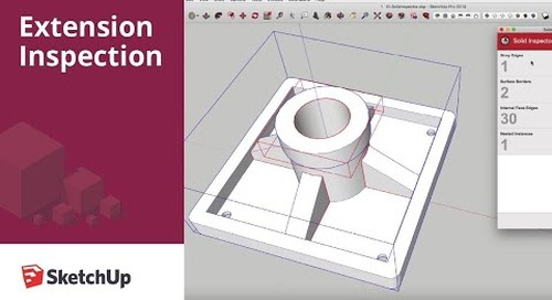 SketchUp Extension Inspection: Solid Inspector