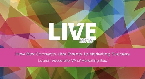 How Box Connects Live Events to Marketing Success with VP of Marketing Lauren Vaccarello