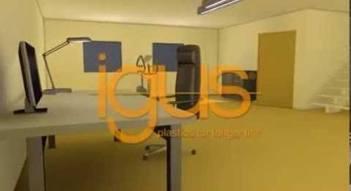 igus dry tech bearings for furniture