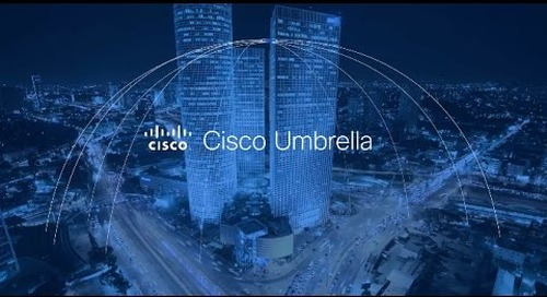 Overview of Cisco Umbrella, formerly OpenDNS