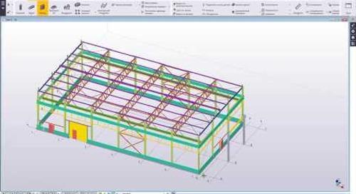 Краткий обзор программного обеспечения Tekla Structures