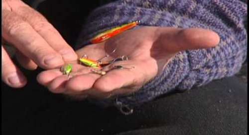 Ice Fishing Search Lures with Daryl Bauer