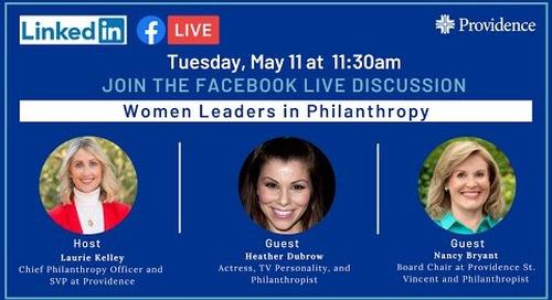 Women Leaders in Philanthropy
