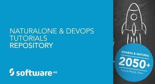 NaturalONE & DevOps Tutorials - Repository