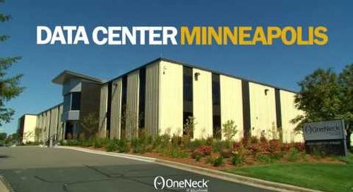 OneNeck data center in Minneapolis, MN
