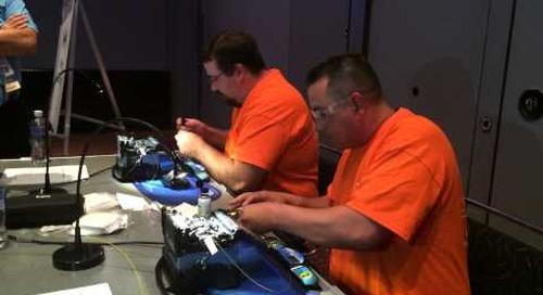 SCTE Cable-Tec Cable Games Fiber Splice Competition