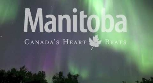 Northern Lights Over Manitoba