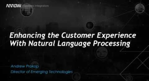Enhancing the Customer Experience with Natural Language Processing
