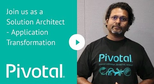 APJ - Join us as a Solution Architect - Application Transformation