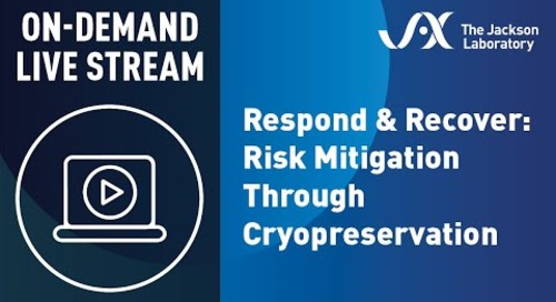 Respond and Recover: Risk Mitigation Through Cryopreservation