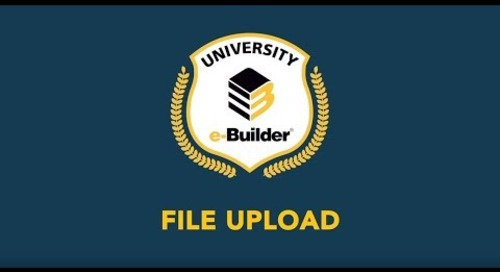 Training Videos On-Demand: File Upload