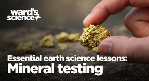 Essential Activities for Essential Earth Science Lessons: Mineral Testing