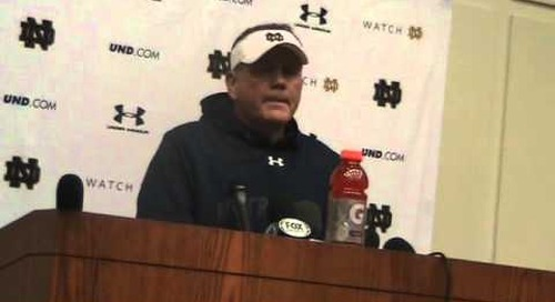 Brian Kelly Press Conference (10-16-14)