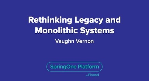 Rethinking Legacy and Monolithic Systems