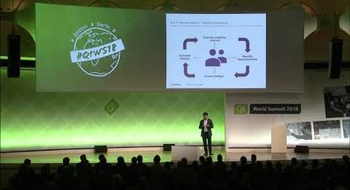 QtWS18 Keynote – Up-to-date GUI Medical Devices by Claudio Laddaga, LivaNova