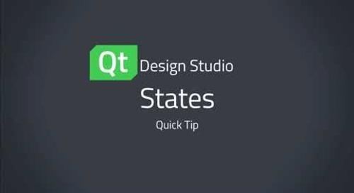 Qt Design Studio QuickTip: States