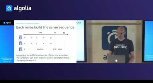 Distributed Architecture of our Search API - Julien Lemoine, Algolia