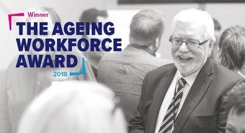 Aviva win the BITC Ageing Workforce Award 2018