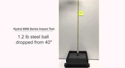 Hydrel 8000 Series Floodlight Impact Test