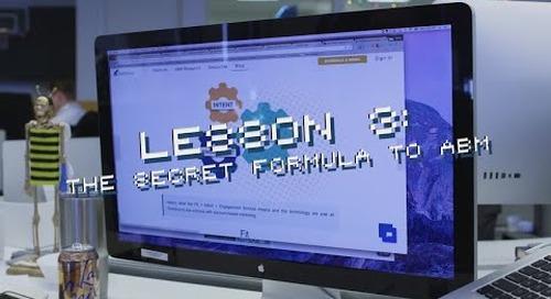 #OneTeam Lesson #3: The Secret Formula to ABM