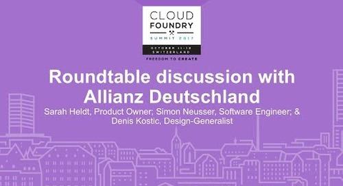 Roundtable discussion with Allianz Deutschland - Sarah Heldt, Simon Neusser, & Denis Kostic
