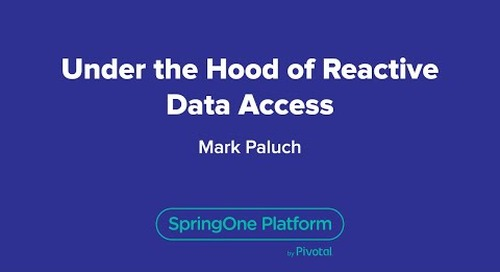 Under the Hood of Reactive Data Access