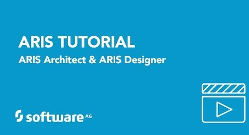 How to design your business processes with ARIS Architect