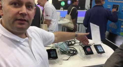 embedded world 2017: Quick Time to Market for the Smart Home with FTDI Chip's EVE Technology