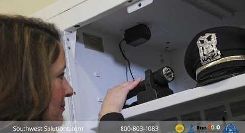 Personal Police Gear Lockers Installation Timelapse