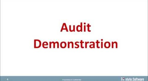Nlyte Automated Asset Lifecycle Management Audit and Receiving - Webinar Recording