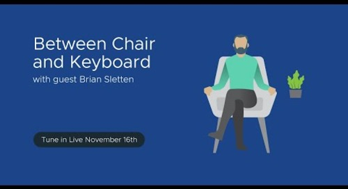 Tanzu.TV - Between Chair and Keyboard with guest Brian Sletten