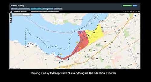 Esri Canada's Incident Briefing App