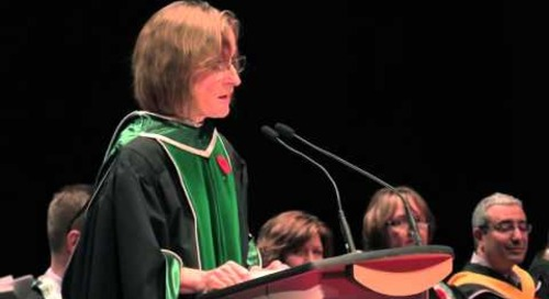 Convocation Fall 2015 - President Cheryl Jensen