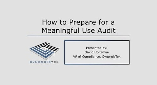 How to Prepare for a Meaningful Use Audit