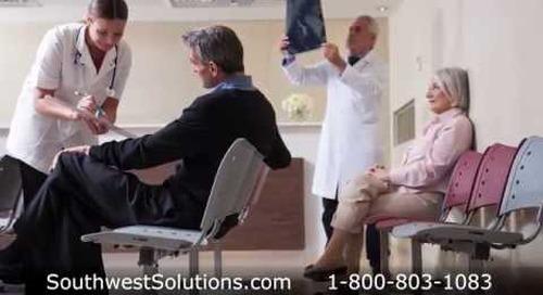 Rolling & Folding Immunization Workstations Saving Time & Hospital Floorspace