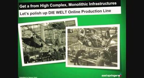 Axel Springer - The Journey from Print to Online Journalism is Cloudy (Cloud Foundry Summit 2014)