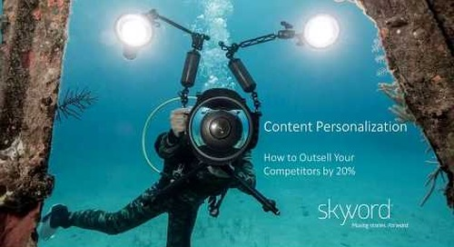 Content Personalization Webinar - How to Outsell Your Competitors by 20%