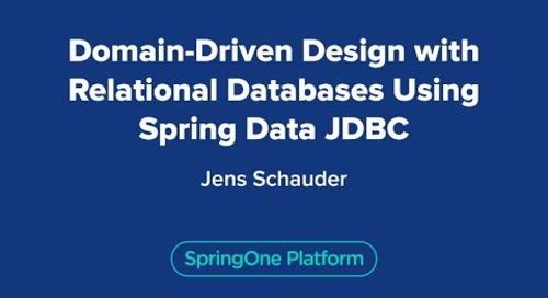 Domain-Driven Design with Relational Databases Using Spring Data JDBC