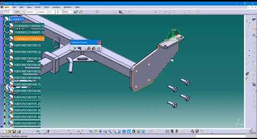 Creating and Managing Scenes in CATIA V5