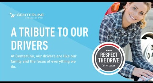 Respect the Drive™: A tribute to our drivers