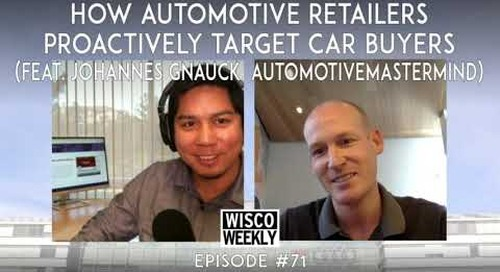 How Automotive Retailers Proactively Target Car Buyers