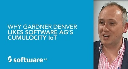 Why Gardner Denver Likes Software AG's Cumulocity IoT