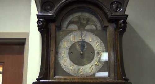 Grandfather Clock at The Texas Collection