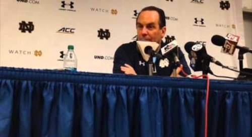 Mike Brey (National Signing Day)