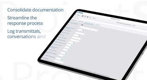 ProjectSight's Configurable Documents Module (RFIs, Submittals and More)